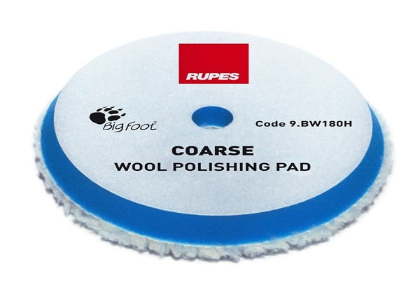 Picture of Wool Coarse Polishing Pad 150/170mm Rupes
