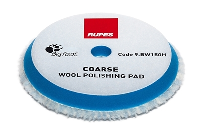 Picture of Wool Coarse Polishing Pad 130/145mm Rupes