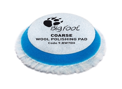 Picture of Wool Coarse Polishing Pad 50/65mm Rupes
