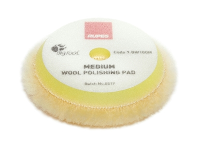 Picture of Wool Medium Polishing Pad 80/90mm Rupes