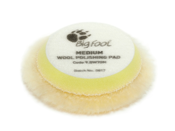Picture of Wool Medium Polishing Pad 50/65mm Rupes