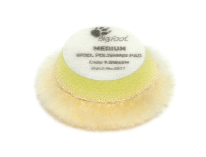 Picture of Wool Medium Polishing Pad 30/45mm Rupes