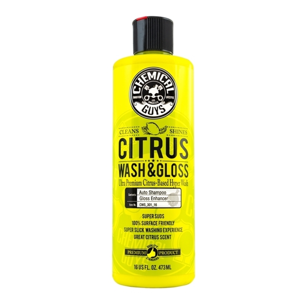 Picture of Chemical Guys Citrus Wash & Gloss 473ml