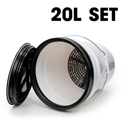 Picture of Bucket Set 20L Black