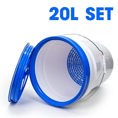 Picture of Bucket Set 20L Blue